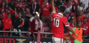 Benfica vence sin apuros a Paços de Ferreira