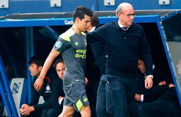 PSV no apelará sanción de Hirving Lozano