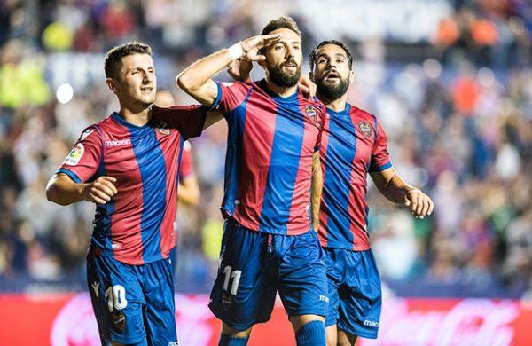 Levante goleó a Real Sociedad — Liga de España