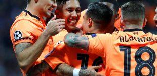 Liverpool aplasta a un débil Maribor