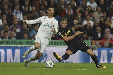 Tottenham le arrebata un punto al Real Madrid
