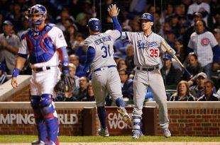 Dodgers vapulea a Cachorros y se pone a un triunfo de la Serie Mundial