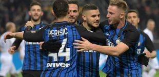 Inter venció al Atalanta y persigue al Napoli