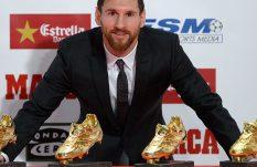 Lionel Messi, un goleador de oro