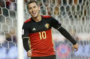 Para Eden Hazard y Bélgica llegó el momento de brillar