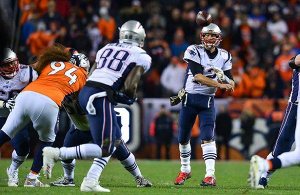Patriotas vence 41-16 a Broncos en SNF