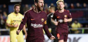 Messi y Suárez comandan victoria blaugrana en Villareal