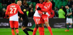 Mónaco goleó y persigue de cerca al PSG