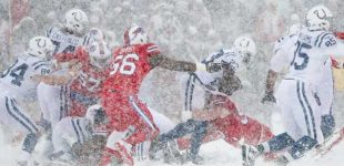 Los Bills derrotan a los Colts bajo la nieve de Buffalo