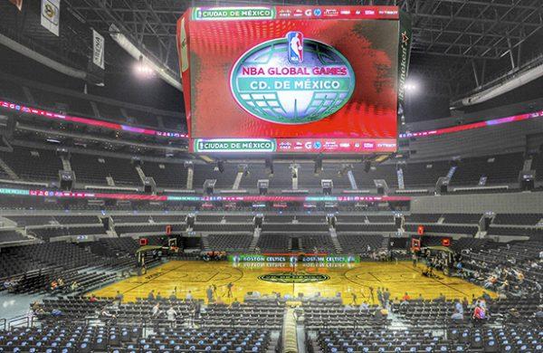 Reconocen los Nets la Arena Ciudad de México
