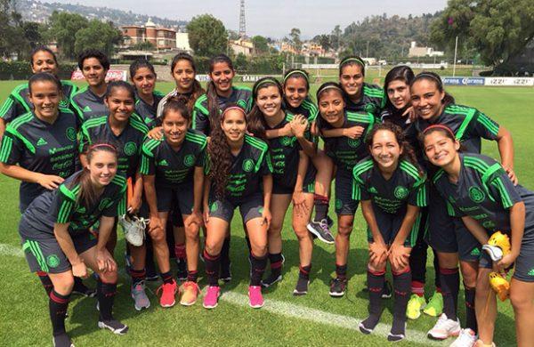 México ya conoce a sus rivales en Mundial femenil sub 20