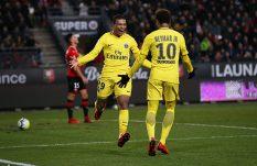 El tridente del  PSG vuelve a hacer de las suyas en Francia