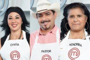 Honorina, Cynthia y Pastor, listos para la final de Master Chef