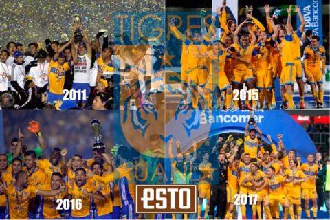 Tigres, el equipo de la década