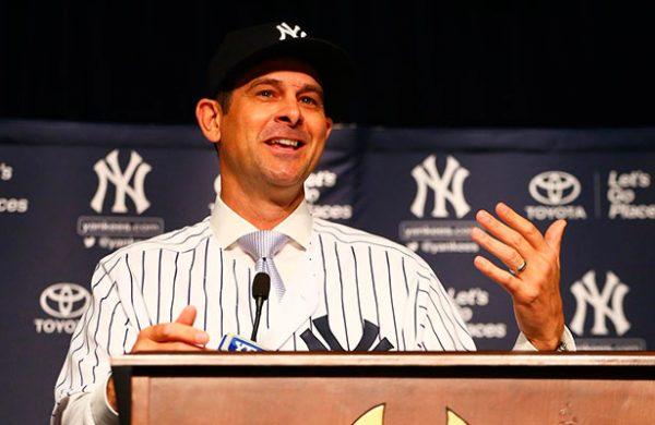 Aaron Boone inicia era como mánager Yankees
