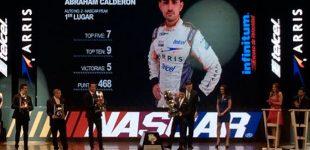 Abraham Calderón, gran ganador en gala de campeones Telcel