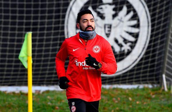 Marco Fabián finalmente pudo entrenar