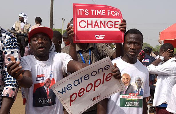 Liberia elige al sucesor de la presidenta Ellen Johnson-Sirleaf