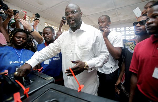 George Weah, de Balón de Oro a electo presidente de Liberia