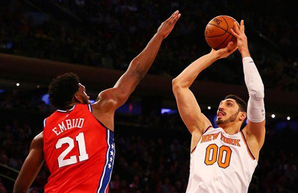 Los 76ers de Filadelfia ganan a los Knicks 105-98