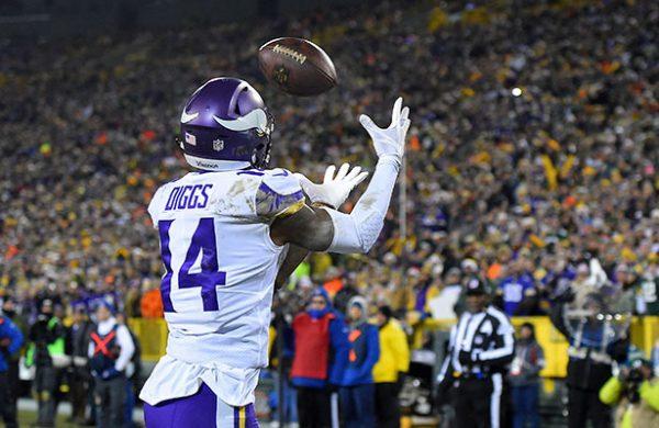 Mantiene Vikings planes de llegar al SB; blanquea a Packers 16-0