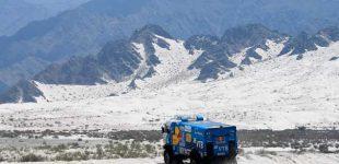 Federico Villagra es líder del Dakar en camiones