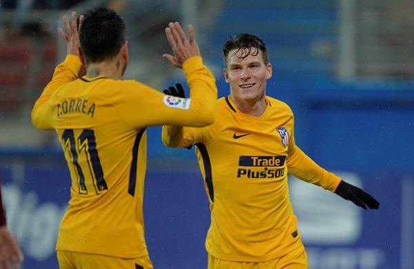 El escolta Atlético de Madrid de Simeone visitará a Eibar para acercarse a la cima