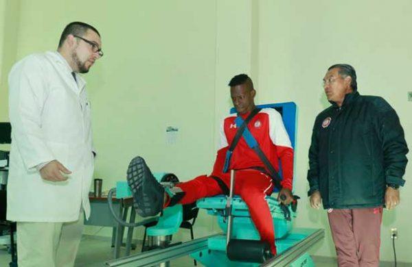 El colombiano Borja cumple con pruebas médicas y físicas con el Toluca