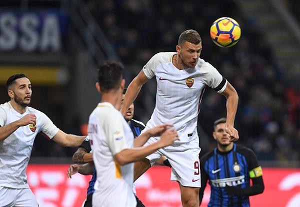 El uruguayo Vecino evitó la derrota de Inter ante Roma
