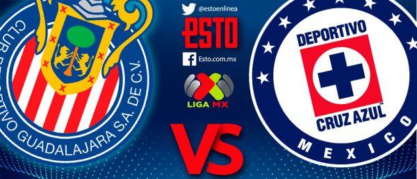 65c823b8e Chivas vs Cruz Azul  Horario