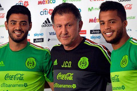 Jonathan Dos Santos y Carlos Vela entrenan a tope