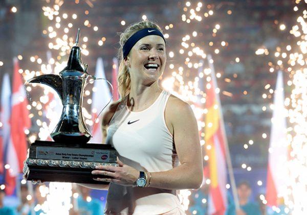 Svitolina gana el torneo de Dubái al imponerse a Kasatkina