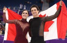 Canadá se lleva oro en patinaje artístico en Olímpicos