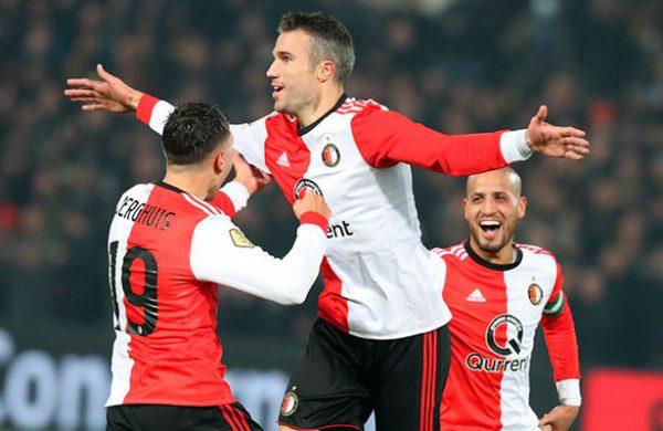 Van Persie volvió a rugir con el Feyenoord