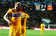 Tigres derrotó a Morelia pidiendo la hora