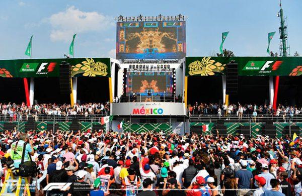 F1 celebra exclusiva fiesta oficial del GP de México