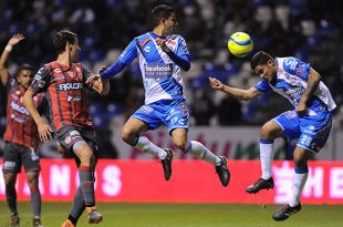 Necaxa rescata el empate ante Puebla con un agónico gol