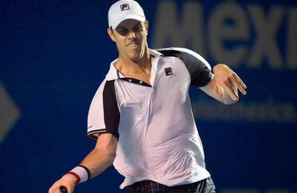 Cae Sam Querrey, campeón defensor del Abierto Mexicano de Tenis