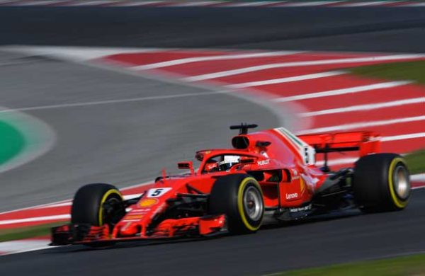 Kimi Räikkönen dominó jornada final de pretemporada de la Fórmula 1