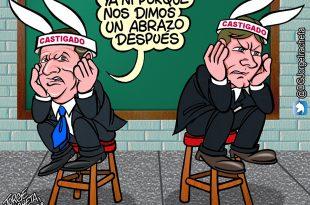 Herrera y Cristante quedaron resignados por su castigo