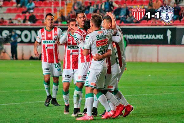Un goleador Víctor Dávila rescata un punto para el Necaxa ante Pachuca