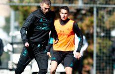 Benzema no pierde el tiempo y entrena con el Madrid