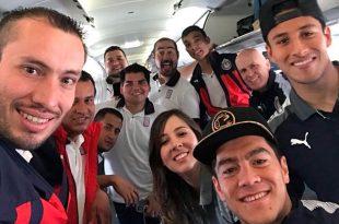 Chivas viajó a Estados Unidos para dos juegos amistosos