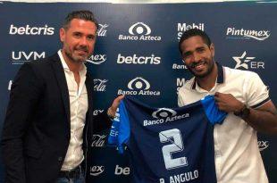 Puebla blindó a Brayan Angulo