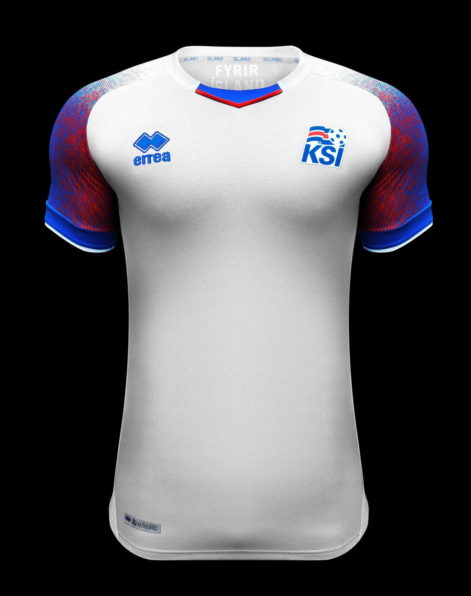 Islandia estrenará su uniforme mundialista ante México d2eabad602054