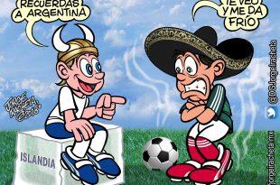 Perspectivas diferentes: México choca con Islandia