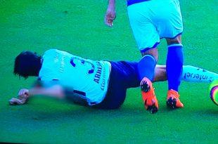 VIDEO: Alejandro Arribas sufre una escalofriante lesión
