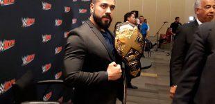 """Andrade """"Cien"""" Almas vive un sueño en la WWE"""