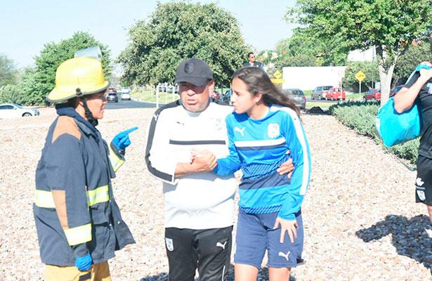 Sufren accidente jugadoras de Querétaro rumbo a entrenamiento