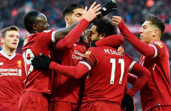 ¡Salah, Salah, Salah, Salah! Liverpool golea en casa a Watford